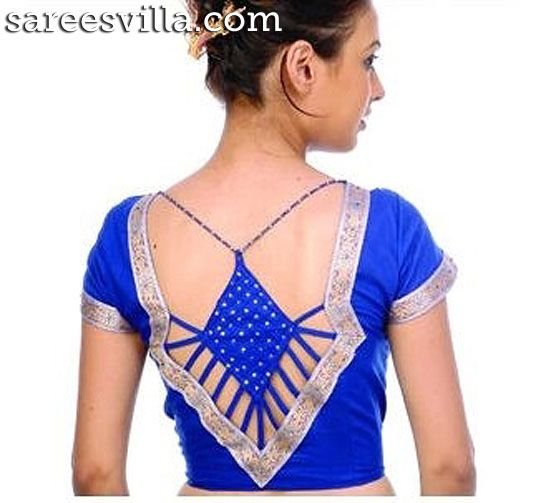Stylish Blouse Designs | Sarees Villa