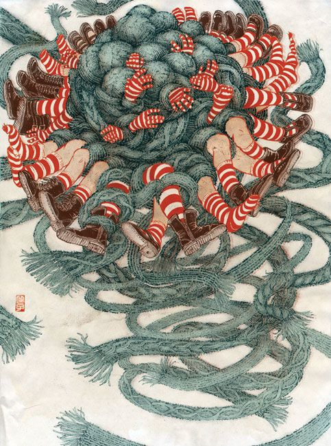 Illustration by Yuko Shimizu
