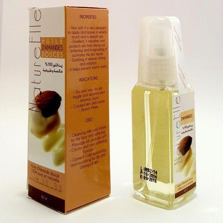 Olio di Mandorle dolci puro e naturale al 100% - 60 ml