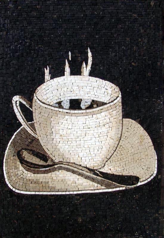 Mosaic Designs- Tazza di caffè #Mozaico