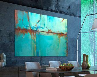 Oranje blauw abstract schilderij, grote schilderij, op maat gemaakt. Afmetingen: 162 x 97 cm (63,8 x 38 inch)  Dit schilderij is verkocht Uw schilderij zal zeer vergelijkbaar in dezelfde stijl, kleur en grootte gemaakt worden.  Na uw bestelling. Ik begin om uw schilderij te maken. Tot slot wil ik binnen een periode van 12-15 dagen   Medium: acryl Ondersteuning: canvas  Het schilderij zal worden geleverd zonder rek roll zonder frame, kunststof buis.  U kunt gemakkelijk vinden van een lokale…