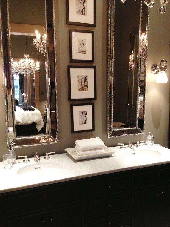 Glam Bathroom - hotel-esque