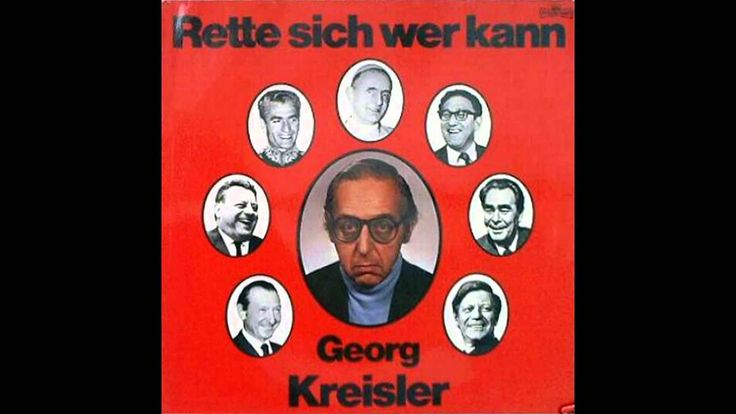 Georg Kreisler - Ich soll immer was Lustiges schreiben