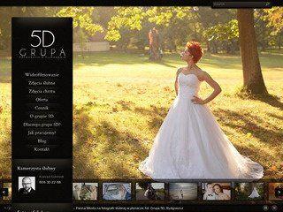 """Studio fotografii ślubnej Grupa 5D w katalogu wartościowych i popularnych stron internetowych """"Katalok""""."""