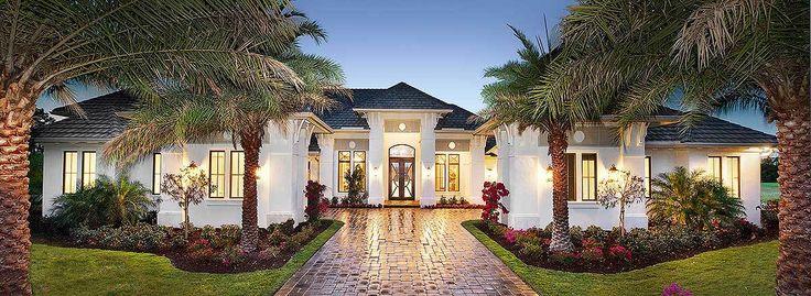 Super-Luxurious Mediterranean House Plan - 66359WE | Architectural Designs - House Plans