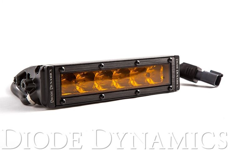 """SS6 Stage Series 6"""" Amber Light Bar (one)"""