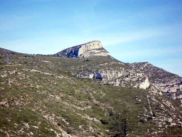 Le sommet du Garlaban