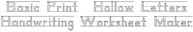 handwriting worksheet...just type in the words and it makes the worksheet for you!  Must use for this summer!