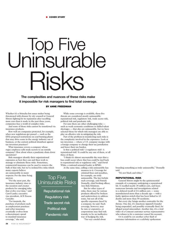 Risk & Insurance September 2014 Page 2829 September