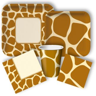 giraffe baby shower ideas | Giraffe Party Supplies: Giraffe Party Invitations, Party Favors, and ...