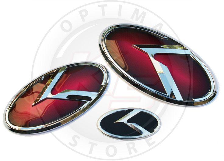 Kia 3 0 K Logo Emblem Sets Emblem Logo Kia Emblems