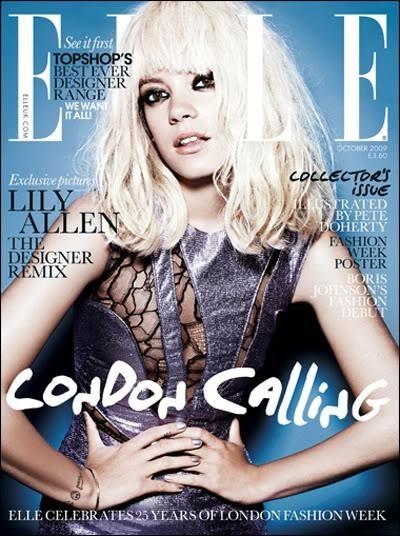 Elle UK October 2009 Cover (Elle UK)