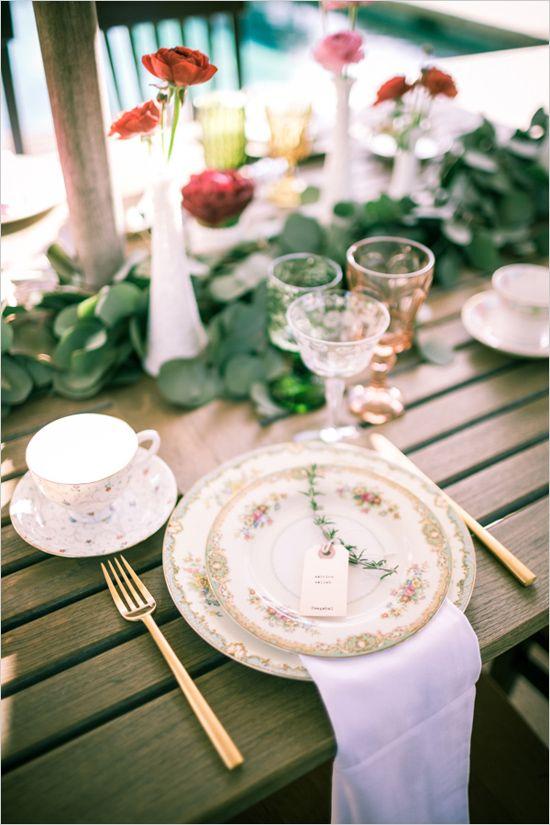 wedding/shower decor and details by Casa de Perrin