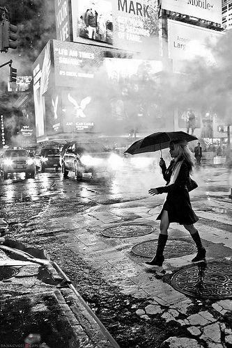 Sleepless in New York by Dana C. Voss, via Flickr