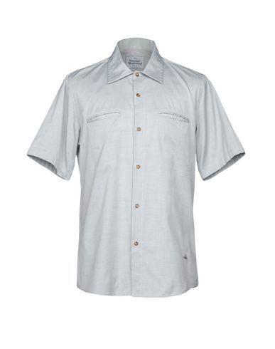 VIVIENNE WESTWOOD MAN Men's Shirt Light grey 42 suit