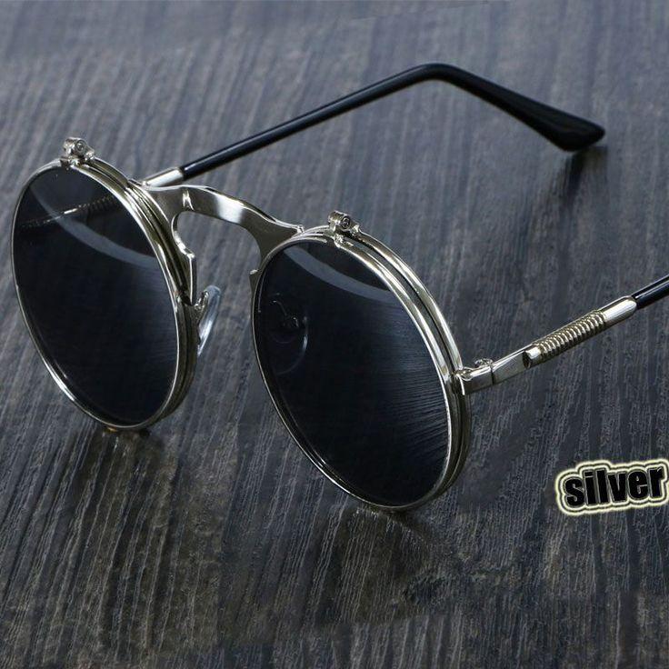 $4.97 (Buy here: https://alitems.com/g/1e8d114494ebda23ff8b16525dc3e8/?i=5&ulp=https%3A%2F%2Fwww.aliexpress.com%2Fitem%2Fvintage-steampunk-Sunglasses-round-Designer-steam-punk-Metal-OCULOS-de-sol-women-COATING-SUNGLASSES-Men-Retro%2F32672281310.html ) Steampunk Sunglasses Round Metal OCULOS De Sol Women Style Retro Flip Circular Double Metal Sun Glasses Men CIRCLE SUN GLASSES for just $4.97