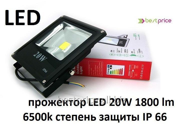 Прожектор светодиодный slim 20w 1800lm 6500k - Best Price Нововолынск (Украина)…