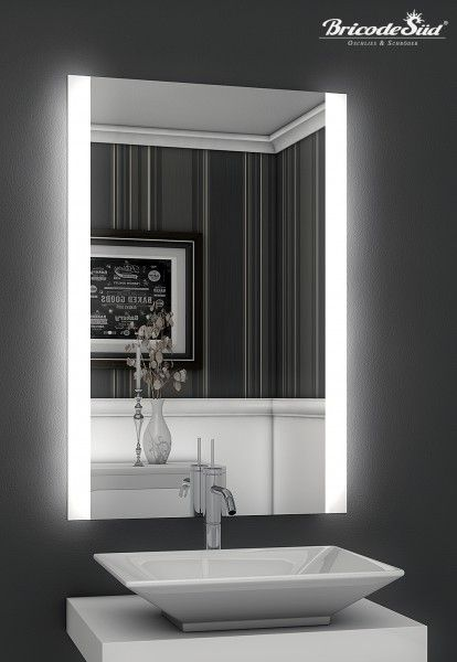 Trend LED Lichtspiegel Persis B mit Beleuchtung