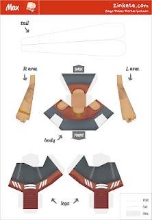 paper toy de er cabesa (3de3)