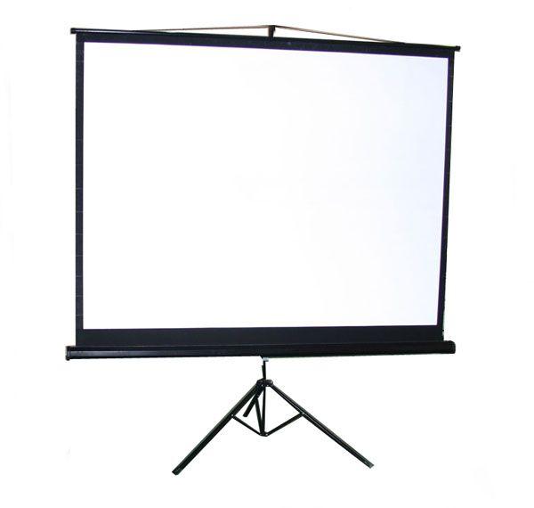 Portable fold up tripod screen (2 m x 1.5 m)