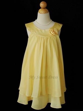 1000  ideas about Yellow Flower Girl Dresses on Pinterest - Yellow ...