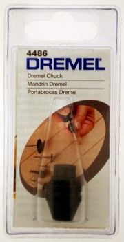 """7/8"""""""""""""""" x 1/2"""""""""""""""" DREMEL CHUCK FOR ACCESSORY BITS WITH 1/32"""""""""""""""" TO 1/8"""""""""""""""" SHANKS : ( Pack of 1 Pc )"""