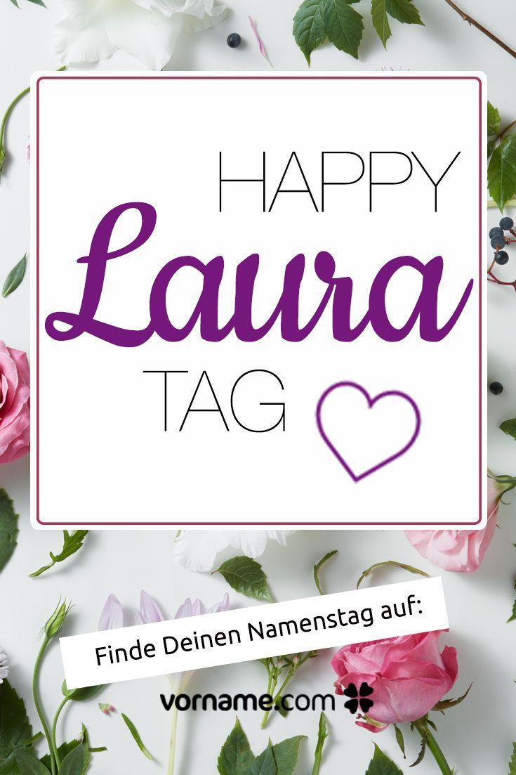 Laura Namenstag