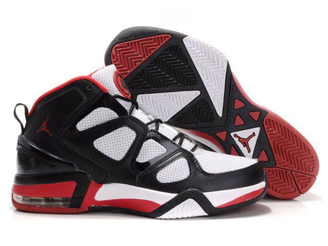 Chaussures Air Jordan Ray Allen Blanc/ Noir/ Rouge [nike_10118] - €56.87