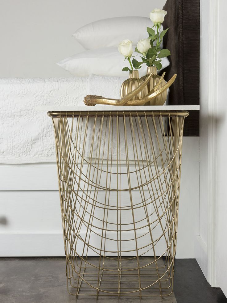Stool Bedside Table: At HGTV: 3 Stylish DIY Bedside Tables