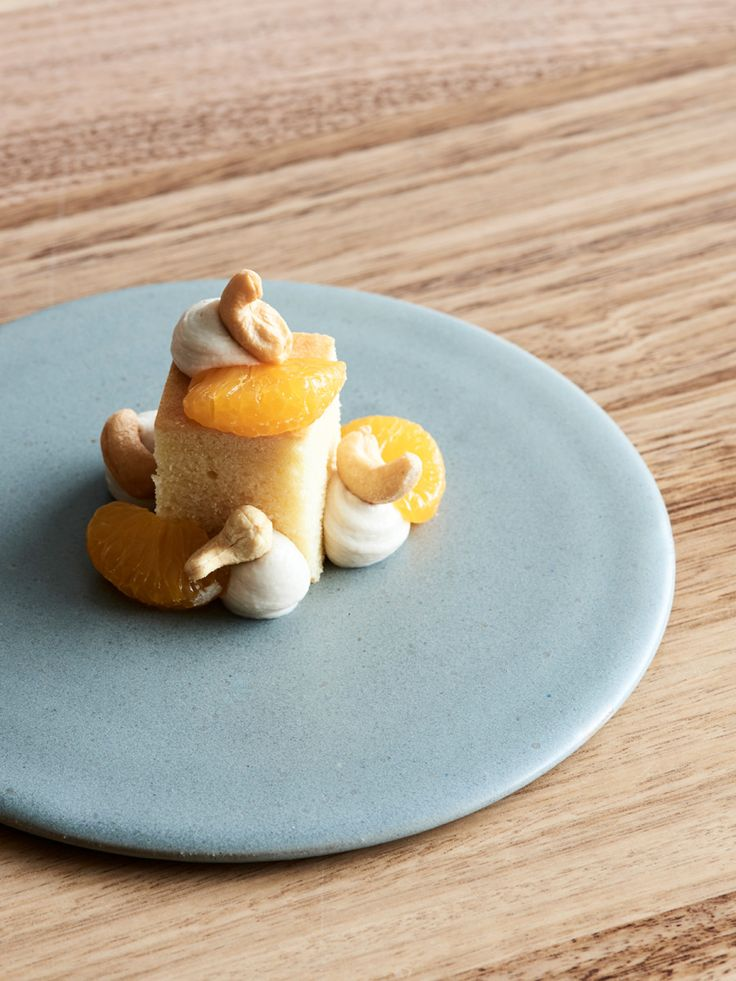 Pierre Roelofs' Chickpea Cake with Mandarin and Cashew Cream — The Design Files | Australia's most popular design blog.
