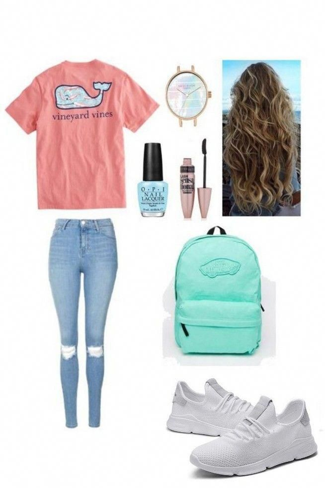 First day of school outfits for teen girls highschool summer 48 – www.Mrsbroos.c… – Childrens Fashion