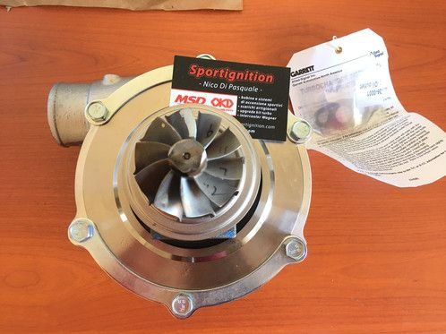 In addition, you can install exhaust gas Garrett GTX turbocharger. Installing the exhaust gas Garrett GTX turbocharger on the naturally inhaled engine can evidently enhance 20% to 30% of the engine torque and efficiency.