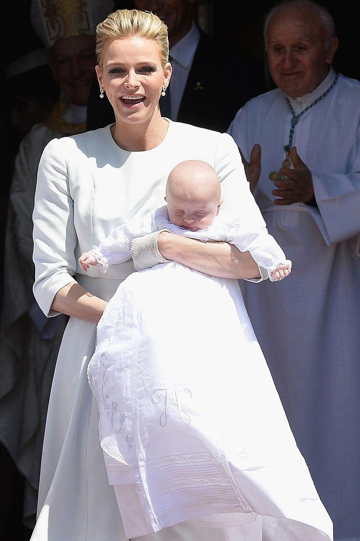 Prince Jacques and Princess Gabriella's christening