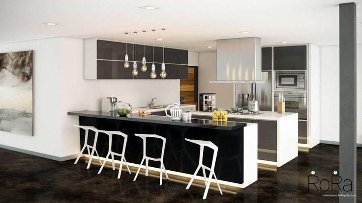 Cozinhas modernas por LA RORA Interiorismo & Arquitectura