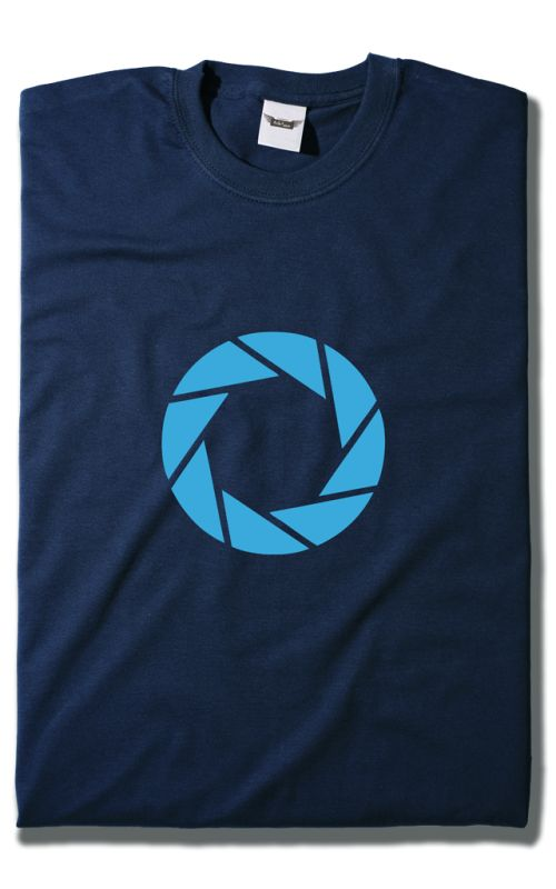 Camiseta Aperture