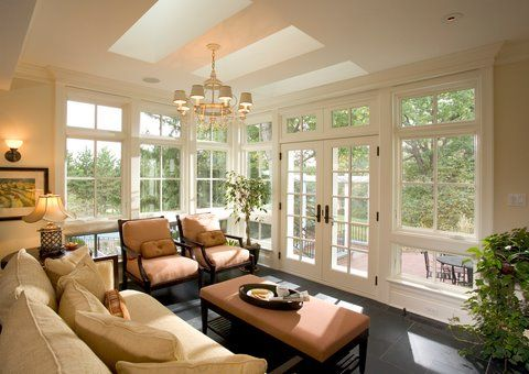 sunroom furniture arrangement. I Love Natural Light. Sunroom Furniture Arrangement E