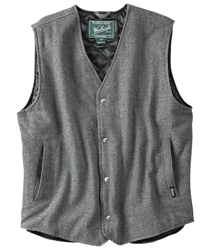 Men's Lightweight Vest with Pockets | Men's Bear Claw Vest