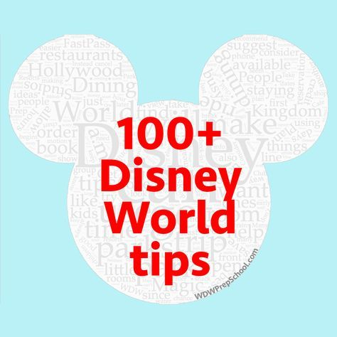 100 of the best Disney World tips - From park touring to dining to resorts (plus more), you'll find 100+ different ideas to help you with your next Disney World trip