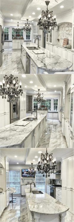 Gorgeous Glamorous Kitchen Design @shaba0001