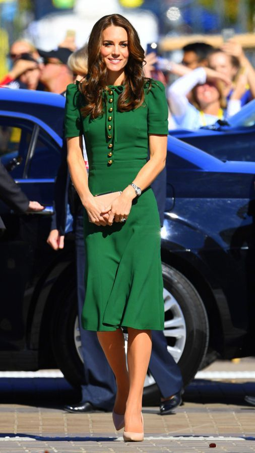 The Duke and the Duchess of Cambridge andtheir two children, Prince George and Princess Charlotte were in Canada for their 2016 Royal Tour, which took place from September 24 to October 1.    Being the stylish lady