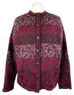 Pendleton Gray, Pink, Wine Jacket