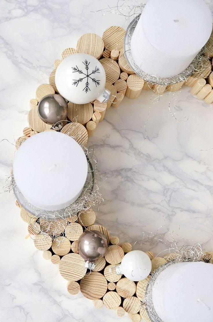 Style&Beauty by Moon Angel: Karácsonyi Készülődés - Adventi Koszorú Inspiráció