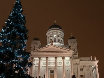 Christmas lights on the city's main street and the bustle of shoppers in St Thomas' Market exude a cheering warmth in the perfect Christmas city Helsinki.