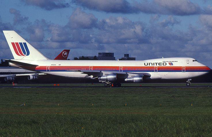 希少なJFK路線専用機 -ユナイテッド航空 機体デザイン