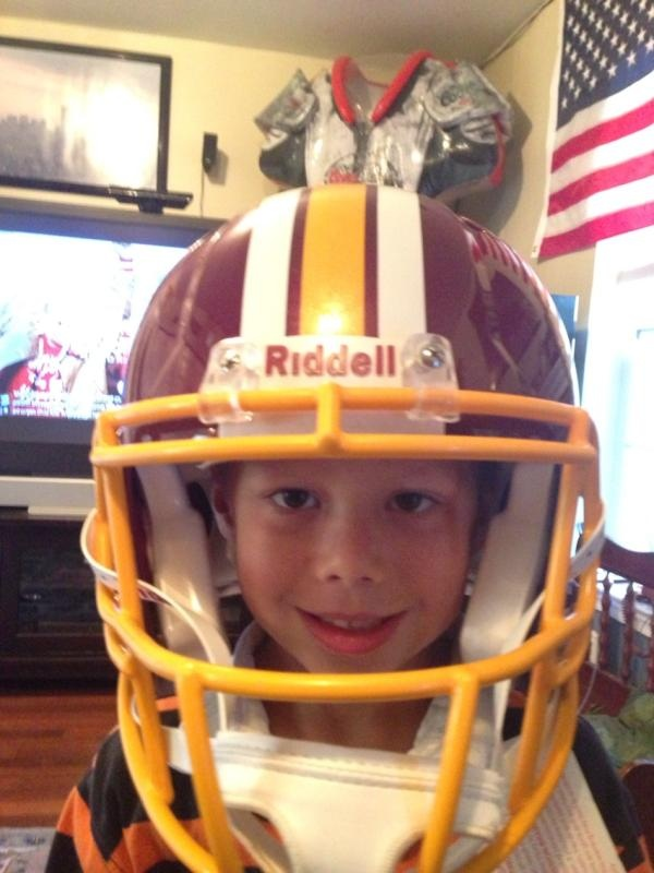 Sent in by Marcus. #Redskins