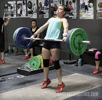 Hips, Meet Bar: The Extension of the Snatch and Clean by Greg Everett - Olympic Weightlifting - Catalyst Athletics - Olympic Weightlifting