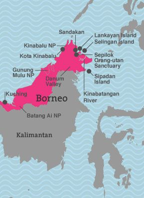 Borneo holidays 2016 - packages and tours - Selective Asia