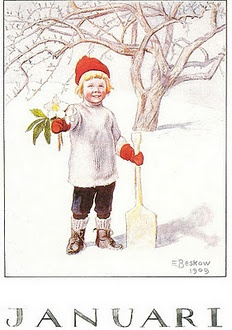 Elsa Beslow, Weer een nieuw jaar met hopenlijk veel mooie en leuke gebeurtenissen!