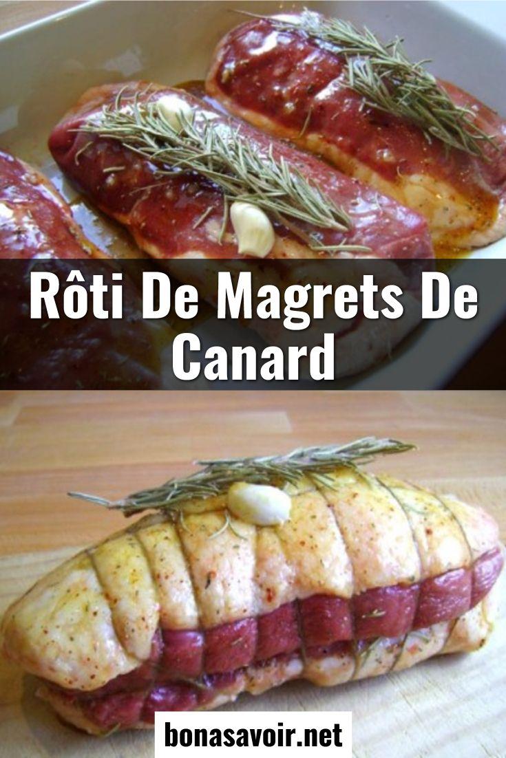 Cuisson Roti De Magret De Canard Farci Au Four : cuisson, magret, canard, farci