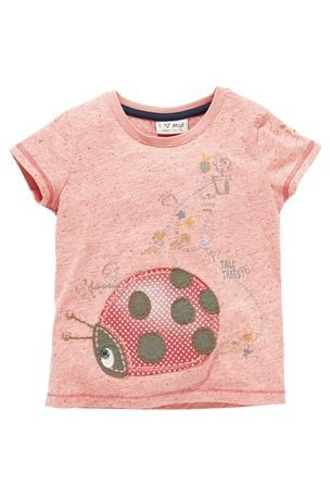 9-12 Buy Pink Appliqué Ladybird Top (3mths-6yrs) from the Next UK online shop